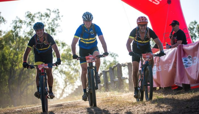 Master racing at Hiddenvale Epic 100KM